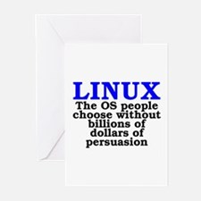 Linux. The OS people choose Greeting Cards (Pk of