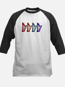 rainbow harps Baseball Jersey