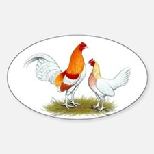 Old English Bantam: Red Pyle Decal