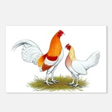 Old English Bantam: Red Pyle Postcards (Package of