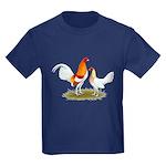 Old English Bantam: Red Pyle Kids Dark T-Shirt