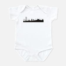Infant Bodysuit - Istanbul silhouette