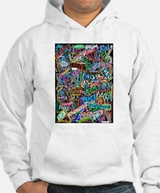 graffiti of the word peace tr Hoodie