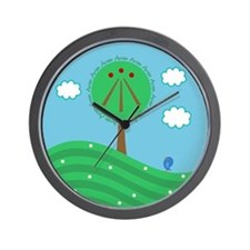Druid Tree Wall Clock