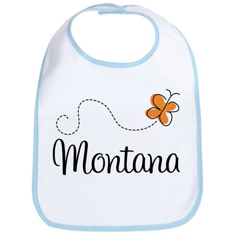 Butterfly MT Montana Bib