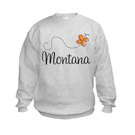 Butterfly MT Montana Kids Sweatshirt