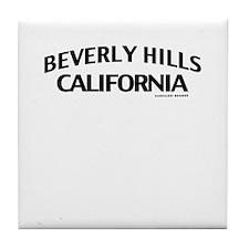 Beverly Hills Tile Coaster