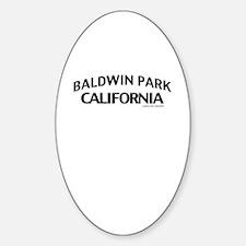 Baldwin Park Sticker (Oval)