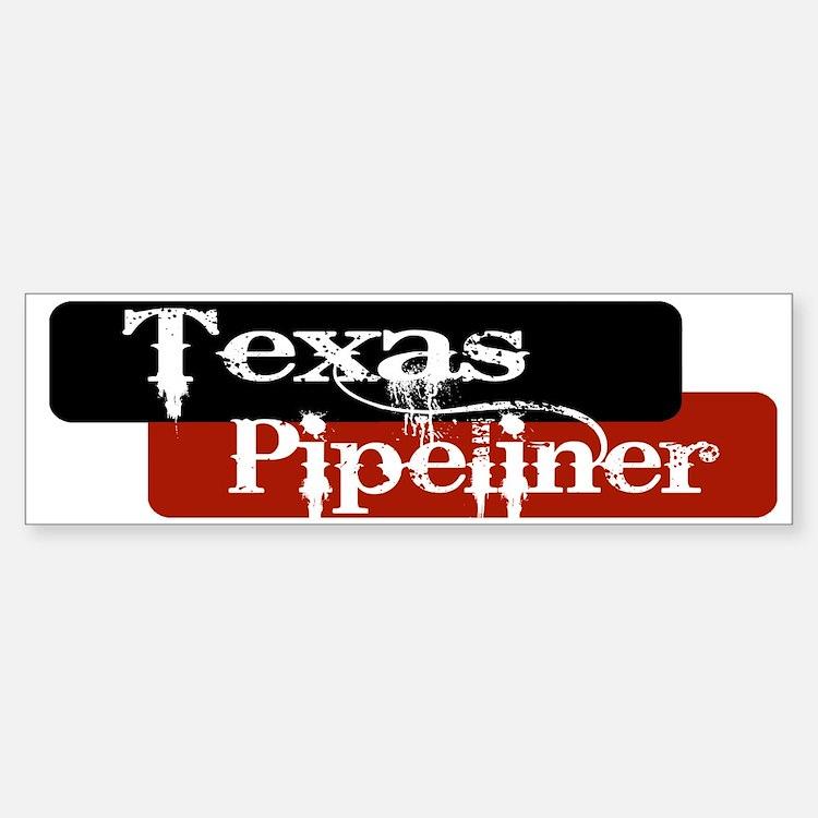 Texas Pipeliner Sticker (Bumper)