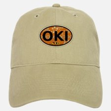 Ocracoke Island - Sandollar Design Baseball Baseball Cap