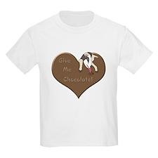 Give Me Chocolate Kids T-Shirt