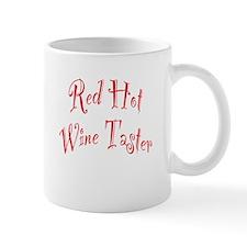 Red Hot Wine Taster Mug