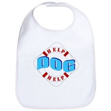 Help Dog Help White/Red Life Bib