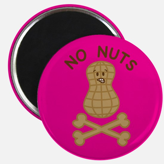 Allergic to nuts Magnet