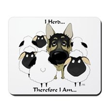German Shepherd - I Herd... Mousepad