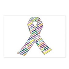 Cute Lung cancer Postcards (Package of 8)