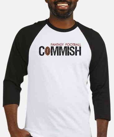 Fantasy Football Commish Baseball Jersey
