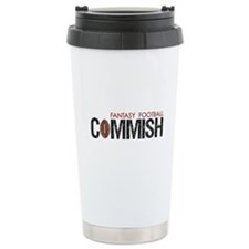 Fantasy Football Commish Travel Mug