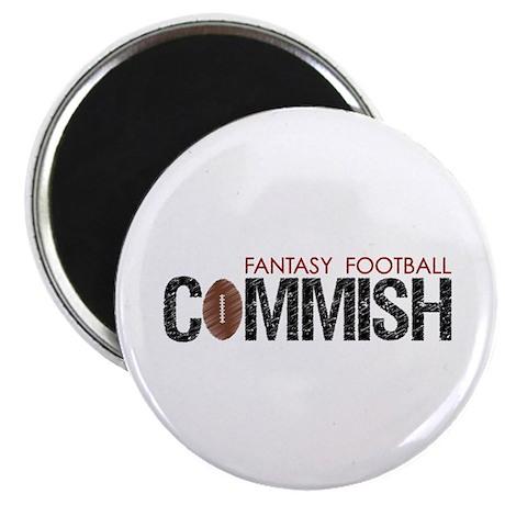 "Fantasy Football Commish 2.25"" Magnet (100 pack)"