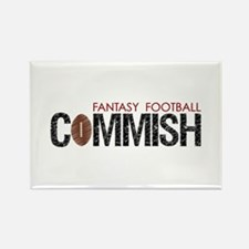 Fantasy Football Commish Rectangle Magnet