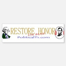 Restore Honor Sticker (Bumper)
