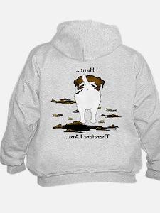 Jack Russell Terrier - I Hunt. Hoodie