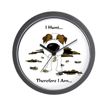 Jack Russell Terrier - I Hunt. Wall Clock