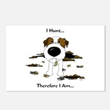 Jack Russell Terrier - I Hunt. Postcards (Package