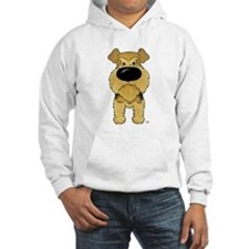 Big Nose Airedale Hoodie