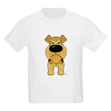 Big Nose Airedale T-Shirt