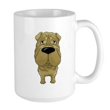 Big Nose Shar-Pei Mug