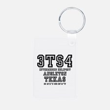 US - TEXAS - AIRFIELD CODES - 3TS4 Keychains