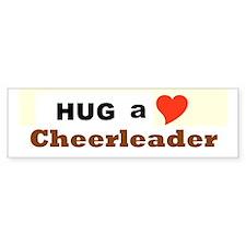 Cheerleader Bumper Sticker
