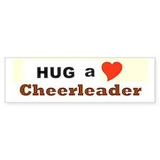 Cheerleader Car Sticker
