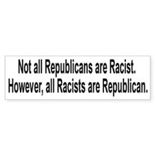 Anti-Hate Bumper Sticker