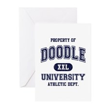 Doodle University Greeting Cards (Pk of 10)