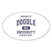 Doodle University Decal