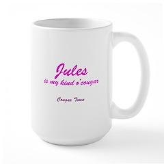 My Kind O' Cougar Large Mug