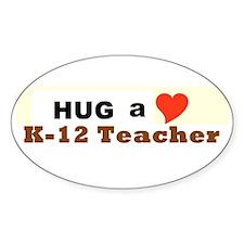K-12 Teacher Decal