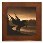 Pegasus Framed Tile