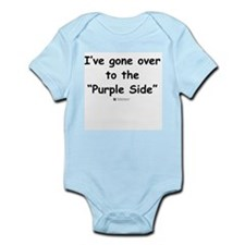 Purple Side -  Infant Creeper