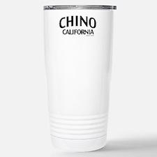 Chino Stainless Steel Travel Mug