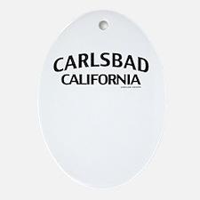 Carlsbad Ornament (Oval)