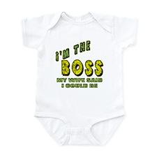 The Boss Onesie