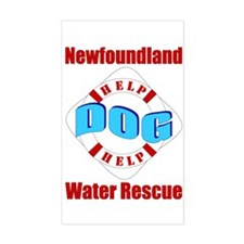 Newfoundland Water Rescue Decal