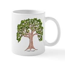 Spring Tree Mug with Hug - Left Handed