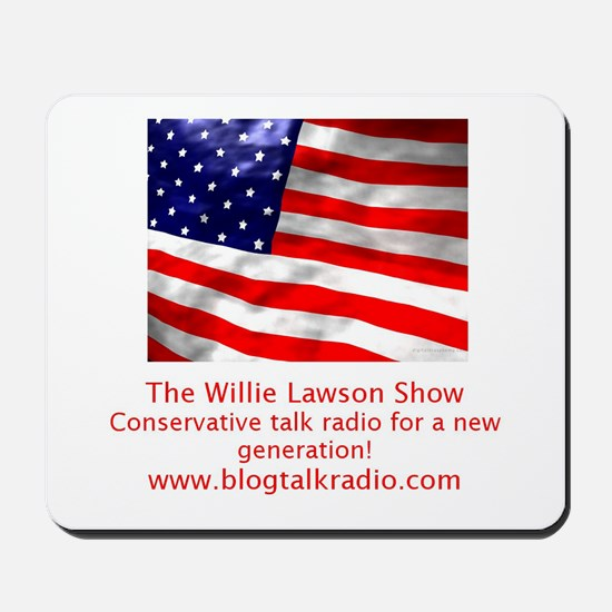 Willie Lawson Show New Generation Mousepad