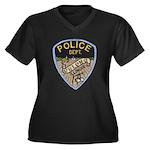 Oblong Illinois Police Women's Plus Size V-Neck Da
