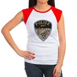 Oblong Illinois Police Women's Cap Sleeve T-Shirt