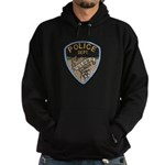 Oblong Illinois Police Hoodie (dark)